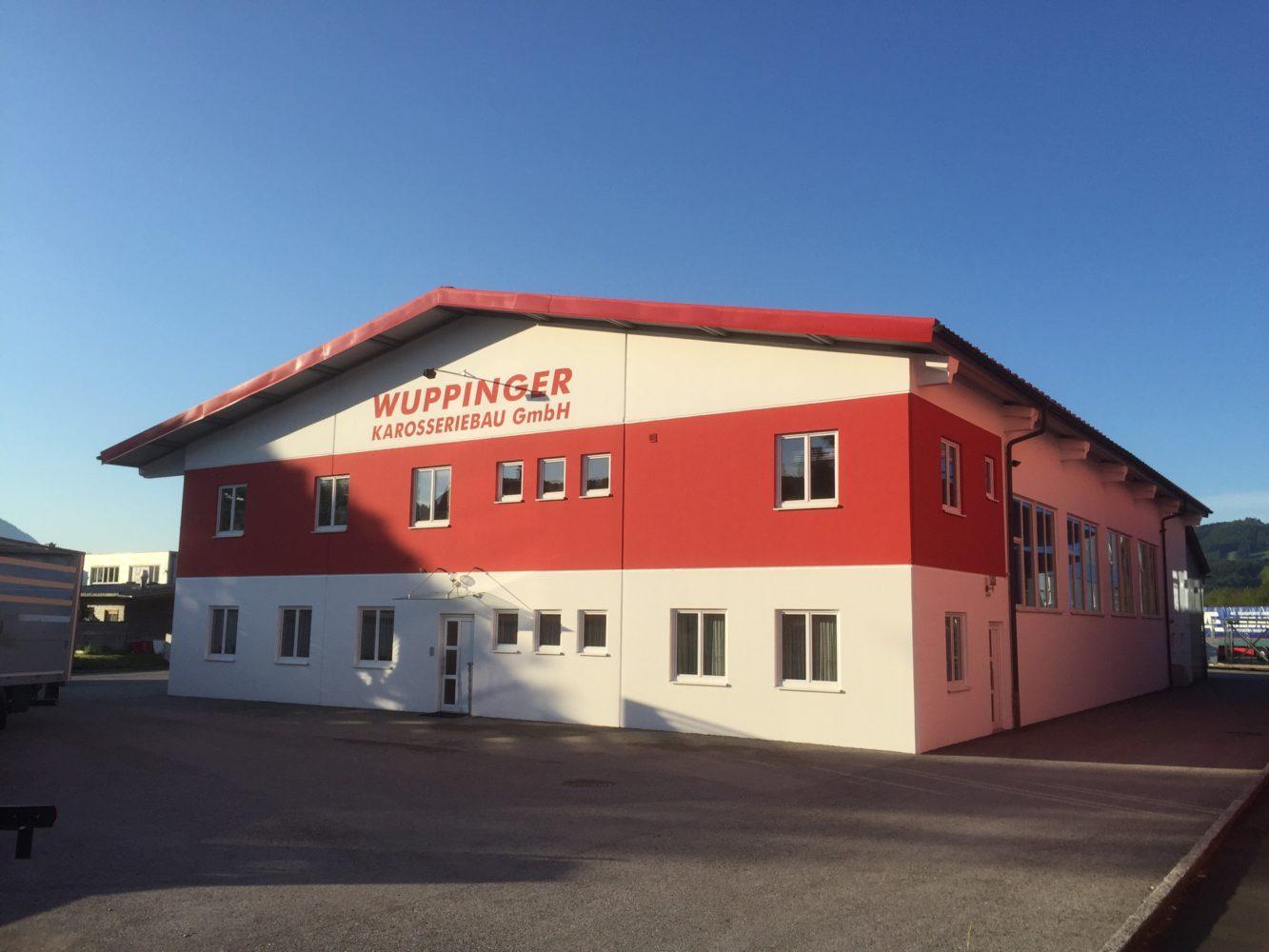 Firmengebäude – Wuppinger Karosseriebau GmbH in Thalgau, in Salzburg