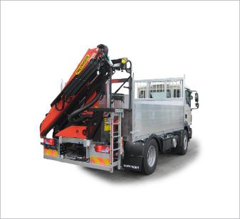 Projekte Kranaufbau Fahrzeugaufbau Wuppinger Karosseriebau